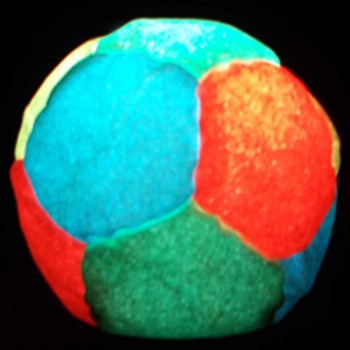 Nighthack Neon Pro LED Footbag with a Color Changer Light